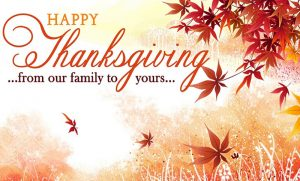 happy thanksgiving messages to donors